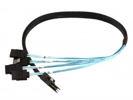 Cable mini sas sff-8087 to 4 sata 1m