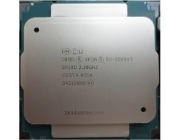 Cpu Intel xeon E5-2699V3 2.3Ghz 18 core/36 threads (SR1XD)