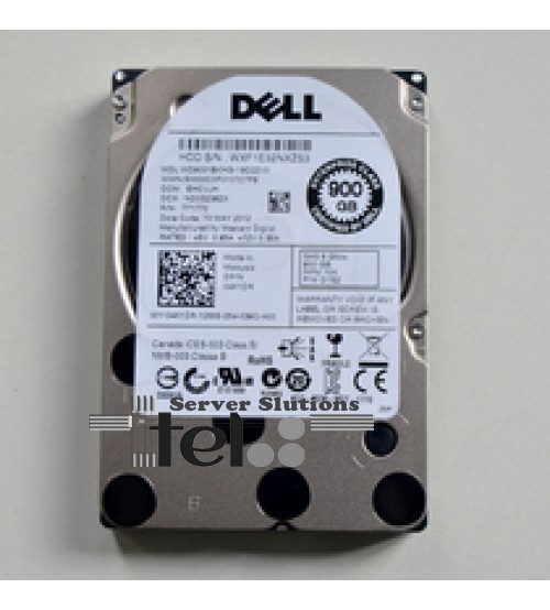 Sas 900G Dell 6 Gbps 10k enterprise 2.5""